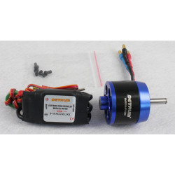 Motor KV1280 y Variador Brushless 40Amp Detrum
