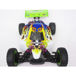Warhead (Atomic) HSP Buggy 1/10 4wd (2,4GHZ) Blanco y Verde