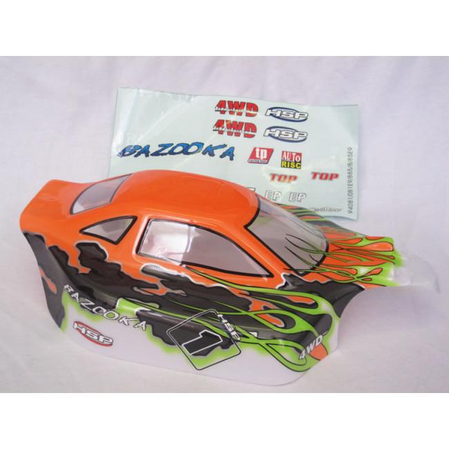 Carrocería Buggy HSP Bazooka 1/8 Naranja