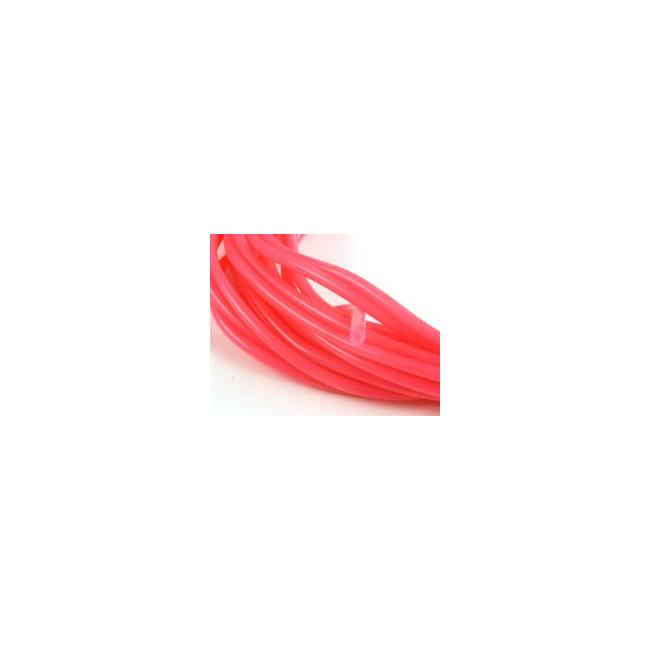 Tubo de silicona combustible rosa