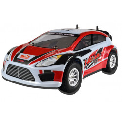 Coche RC XRL-N2 Rally Nitro 4WD 2VEL. FORCE18 Rojo-Blanco