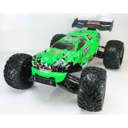 Coche RC Bison Monster Truck 4WD 1/8 Brushless 11.1v Lipo Verde