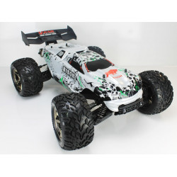 Coche RC Bison Monster Truck 4WD 1/8 Brushless 11.1v Lipo Plateado