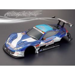 Carrocería Honda HSV Pintada con Pegatinas azul y blanca
