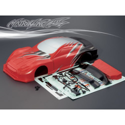 Carrocería Nissan GT-R R35 GT Pintada con Pegatinas