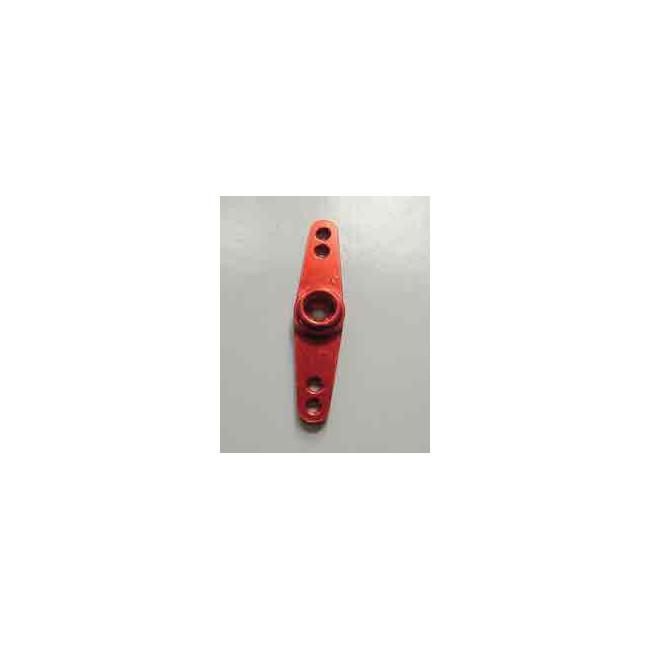 Horn de servo doble en aluminio 2mm JR/SW/KO