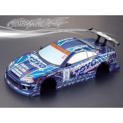 Carrocería Nissan GP Sports S15 Silvia Pintada con Pegatinas