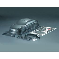 Carrocería Peugeot 408 Pintada de Carbono con Pegatinas