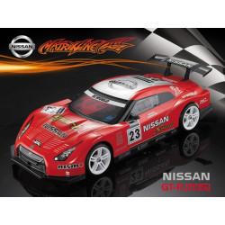 Carrocería Nissan GT-R R35 Transparente con Pegatinas