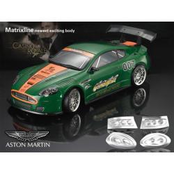 Carrocería Aston Martin DBR9 Transparente con Pegatinas
