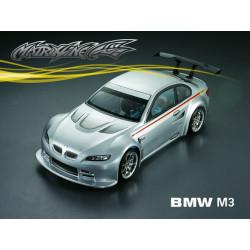 Carrocería BMW M3 Transparente con Pegatinas