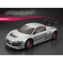 Carrocería Audi R8 Transparente con Pegatinas