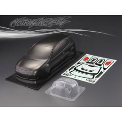Carrocería Volkswagen GTI Pintada de Carbono con Pegatinas