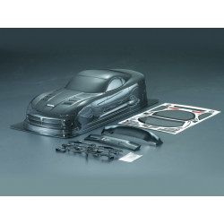 Carrocería Dodge Viper Pintada de Carbono con Pegatinas
