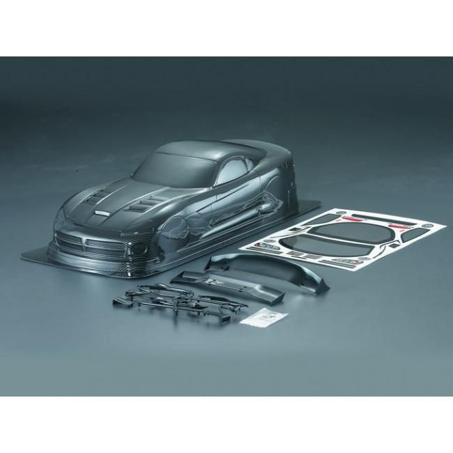 Carrocería BMW M3 Pintada de Carbono con Pegatinas