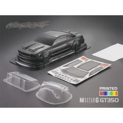 Carrocería Ford Mustang GT350 Pintada de Carbono con Pegatinas