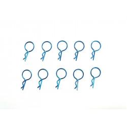 Clips Carrocería para Coches RC 1/10 Azul
