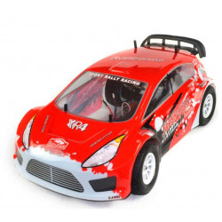 Coche RC XRL-N2 Rally Nitro 4WD 2VEL. FORCE 18 Rojo