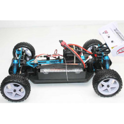 Coche RC XSTR Pro HSP 1/10 Brushless Lipo 2,4Ghz 4WD Azul-Bl-Ng