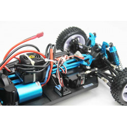 Coche RC XSTR Pro 1/10 Brushless Lipo 2,4Ghz 4WD Azul-Am-Pl