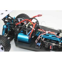 Coche RC XSTR Pro 1/10 Brushless Lipo 2,4Ghz 4WD Azul-Plata