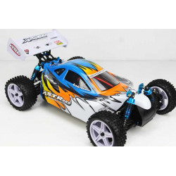 Coche RC XSTR Pro 1/10 Brushless Lipo 2,4Ghz 4WD Azul-Bl-Na