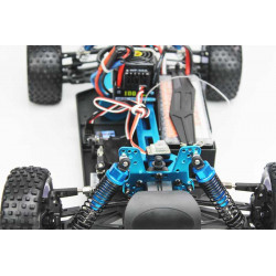 Coche RC XSTR Pro HSP 1/10 Brushless Lipo 2,4Ghz 4WD Azul-Bl-Na