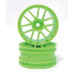 Set Llantas 1/10BBS verdes 26MM