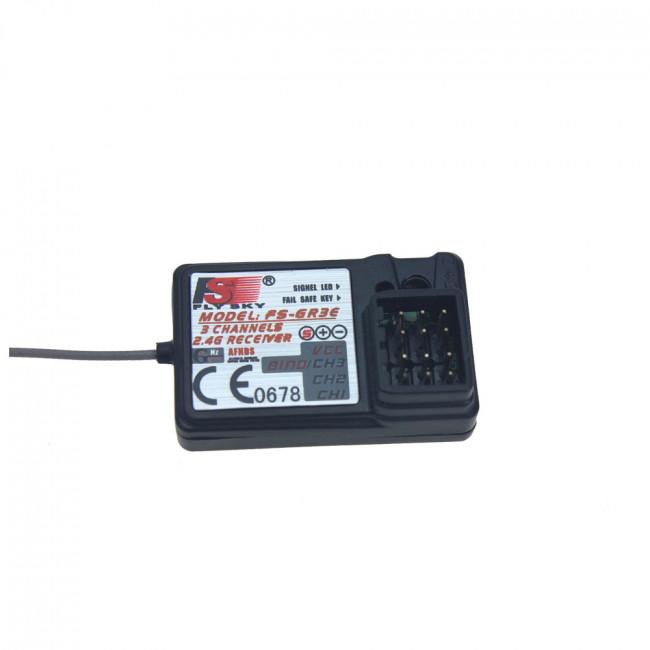 Receptor RC 2.4Ghz 3 Canales FSS-GT3 / GT2