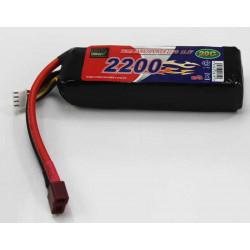 BATERIA LIPO 11.1V 2200MHA 20C (24X35X105MM)