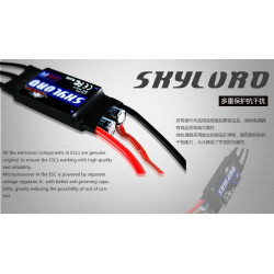 VARIADOR AVION BRUSHLESS 50 AMPERIOS