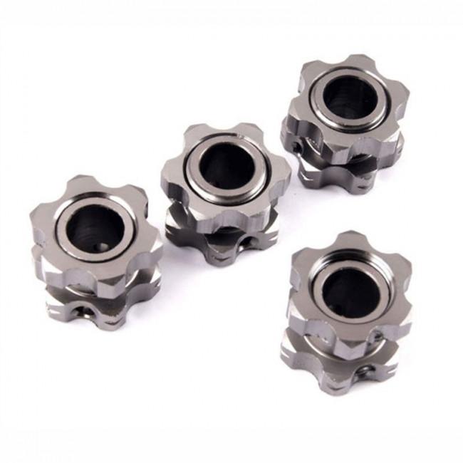 Hexágonos de ruedas con tuerca 1/8 Bazooka HSP