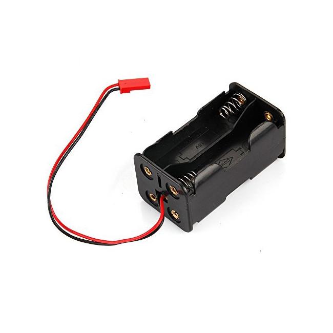Portapilas 4pilas Batería RX