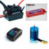 Combo Brushless Motor +Variador 80A + 11.1vol 4200Mah + Cargador E3 Lipo