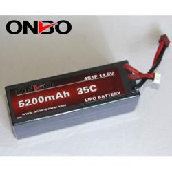 Batería Lipo 14.8v 5200mAh 35C 4S Coche RC