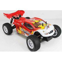 COCHE RC BULLDOG VRX TRUGGY BRUSHLESS+LIPO ROJO