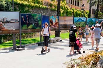 Palma de Mallorca en patinete eléctrico