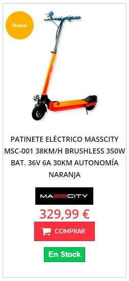 patinete eléctrico en oferta