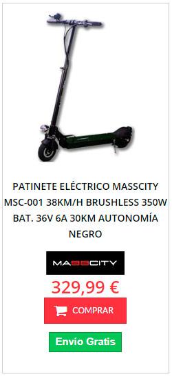 patinete eléctrico al mejor precio