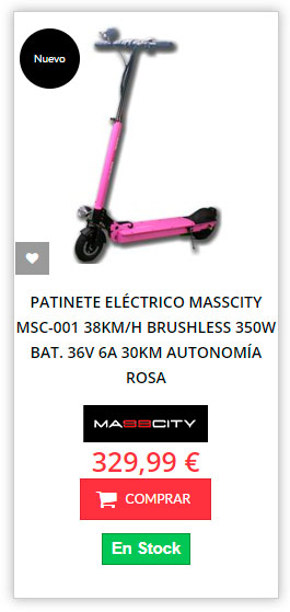 patinete eléctrico a buen precio