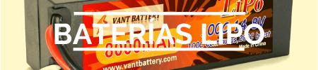 tienda de baterías lipo para radio control