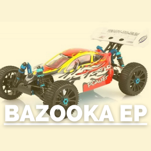 Tienda de recambios para bazooka hsp brushless