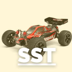 Tienda de recambios para coches rc de la marca SST