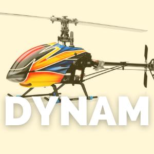 Tienda de recambios para helicópteros de la marca Dynam