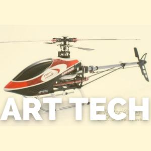 Tienda de recambios para los heliópteros rc de la marca Art Tech