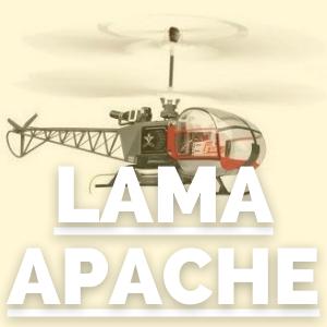 Tienda de recambios para helicópteros lama y apache radio control