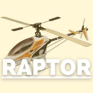 Tienda de recambios para helicóptero raptor thunder tiger