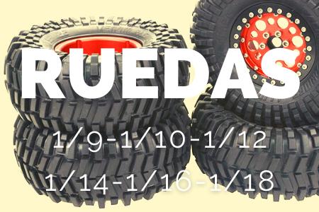 Tienda de ruedas para coches radio control escala 1/10