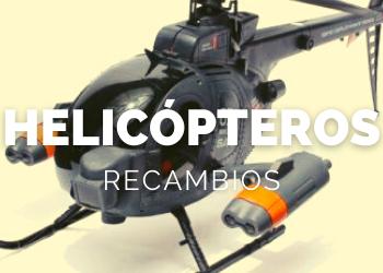 Tienda de recambios para helicópteros teledirigidos